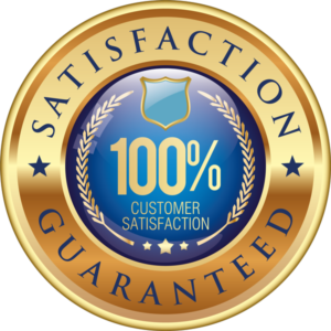 satisfaction guarenteed